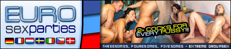 EUROSEXPARTIES 2 COCKS FOR EVERY PUSSY